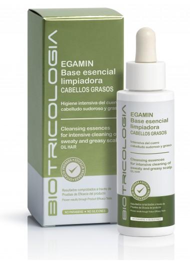 Egarmin, base esencial limpiadora cabellos grasos